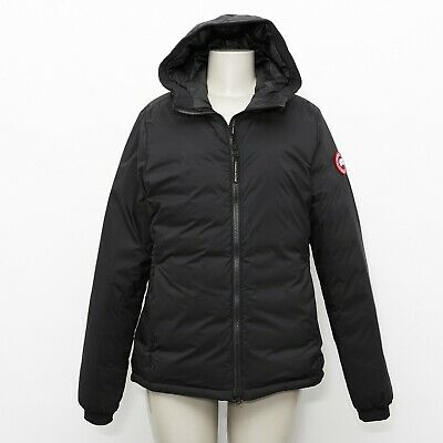 NEW w/ Tags! Canada Goose Womens Black Camp Down Hoody Matte Finish Style #5078L