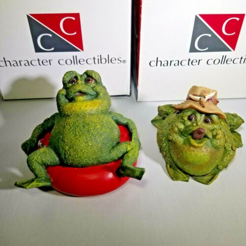 Frog Follies Character Collectibles Figurines lot of 2