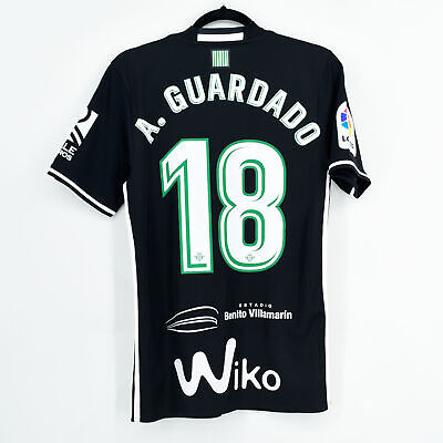 2017-18 Betis Player Issue Third Shirt #18 A. GUARDADO Adidas *New* M...