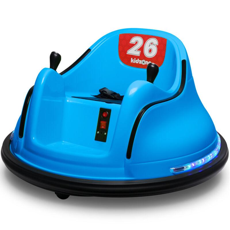 Kidzone Kids ASTM-certified Electric 6V Ride On Bumper Car W/ Remote Control