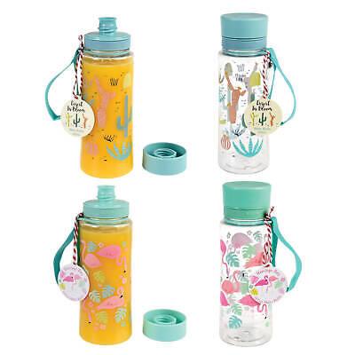 Trinkflasche Schule auslaufsicher Kinder Wasserflasche Kunststoff 600 ml AUSWAHL
