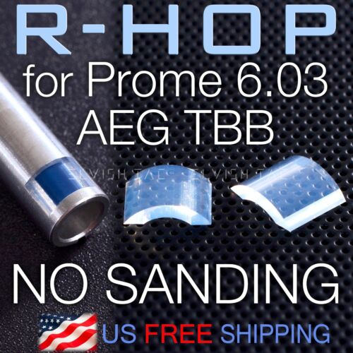 RHOP Fit Prommy Prometheus 6.03 AEG TBB Airsoft Barrel NO Sanding Needed R Hop
