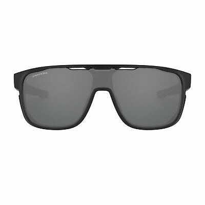 Oakley Crossrange Shield Sunglasses Matte Black Prizm Black UV (Oakley Uv Protection)