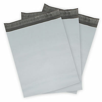 Poly Mailers Plastic Envelopes Whitegray Shipping Mailing Bags -- 2.50 Mil