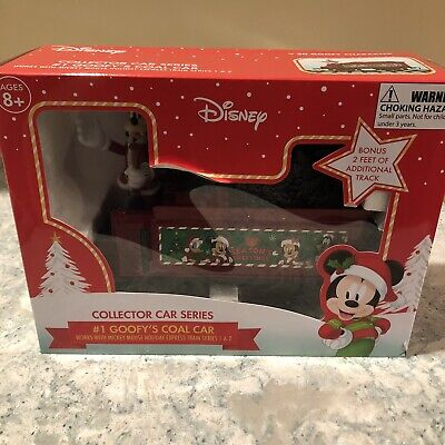 Disney Mickey Mouse Holiday Express #1 Goofy's Coal Car Collector Series Train