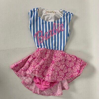 Pistol And Arrow Girls Toddler Barbie Print Dress Size 2 USA Made
