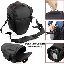 Triangle Digital DSLR SLR Camera Shoulder Strap Case Bag For Nikon Canon Sony