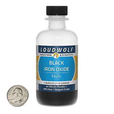 Black 4 Ounce Powder - Iron Oxide