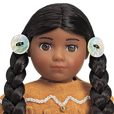 "American Girl KAYA MINI DOLL W/CLEAR COVER 6"" Doll & Book Indian American NEW"