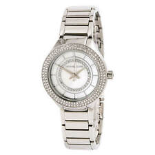 Michael Kors Women's Mini Kerry Quartz Watch SS Bracelet MK3800