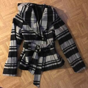 Plaid jacket size small