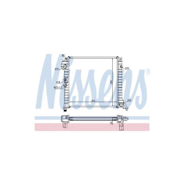 Genuine Nissens Engine Cooling Radiator - 65518