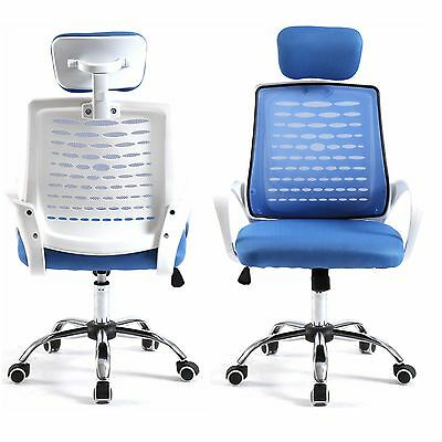 Home Drafting Computer Office Desk Commercial Task Chair Armrest Chair Blwh