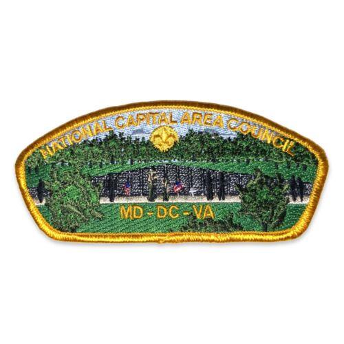 Vietnam War Memorial, Yellow Border- National Capital Area Council- CSP
