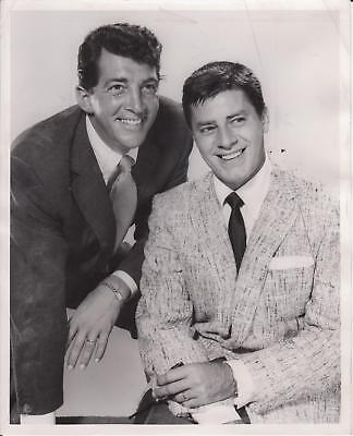1956 Dean Martin & Jerry Lewis NBC Studio Photograph