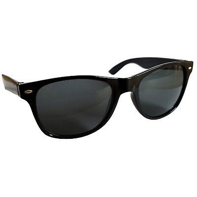 Stylische Sonnenbrille Cool RBW57, Schwarz Gläser dunkel, Blues Brothers