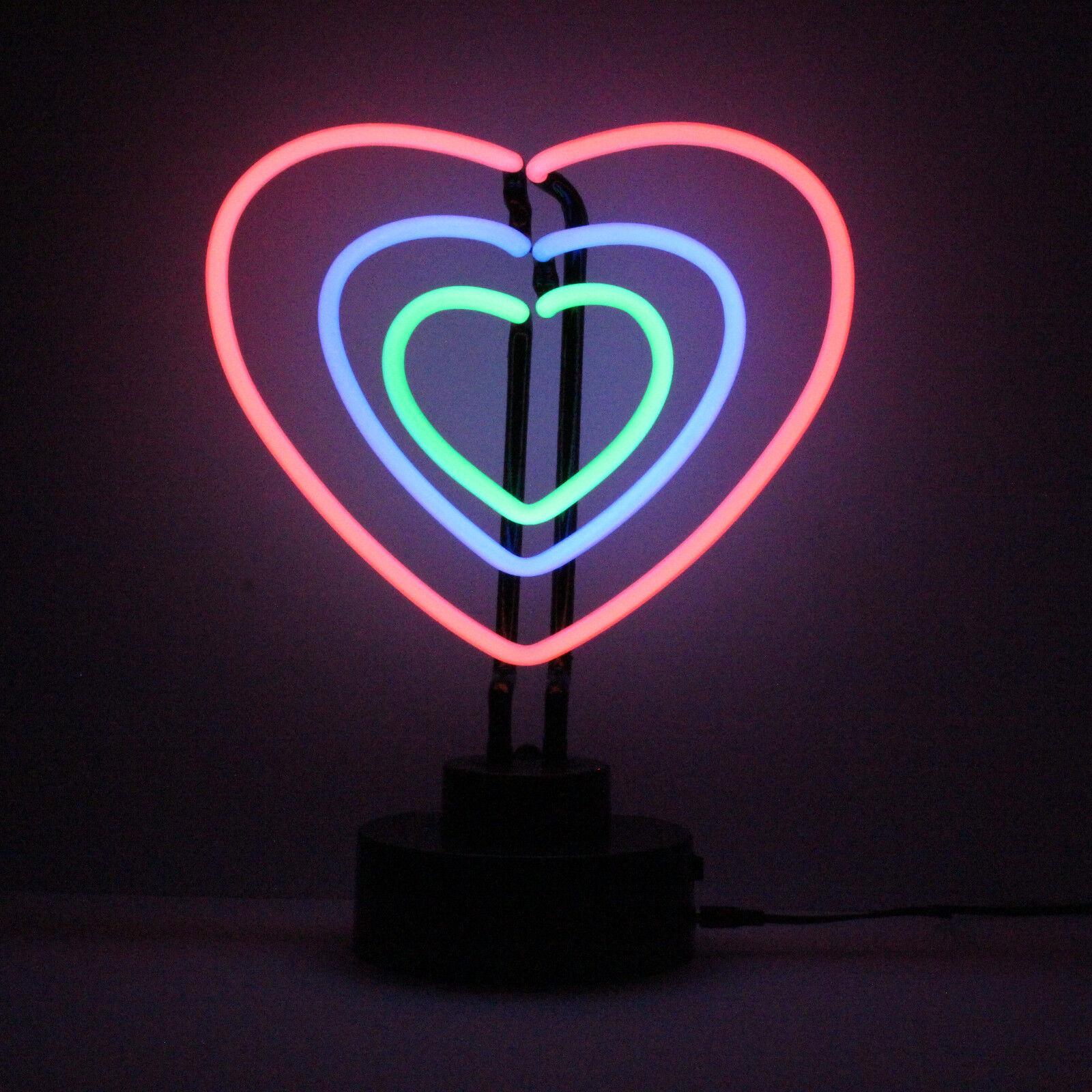 Meglio Neon O Led dettagli su neon strepitoso cuori insegna love fidanzamento nozze  decorazione tavola bedside