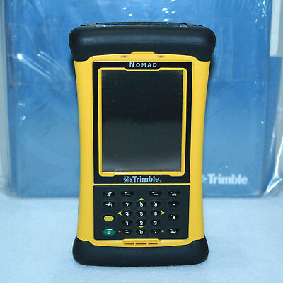 New Trimble Nomad 800lc Mobile Datalogger Gps Bt Wlan W Software Manuals