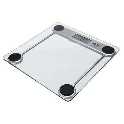 Báscula de Baño Digital, Profesional, 150 Kg, Vidrio Templado, Alta precisión
