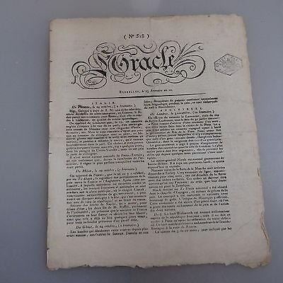 Oracle Nr. 318 Ausgabe 23 brumaire an 10 / 14. November 1801 (43237)