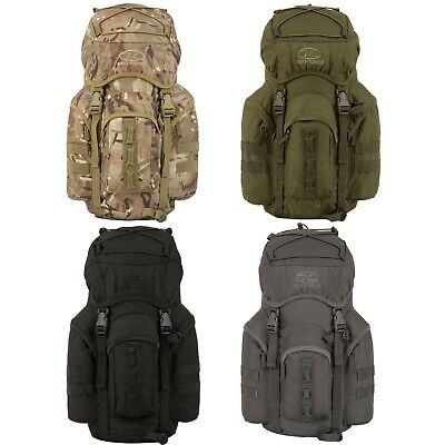Highlander Military Rucksack Army MOLLE Waterproof Forces Backpack 25-88 Litre