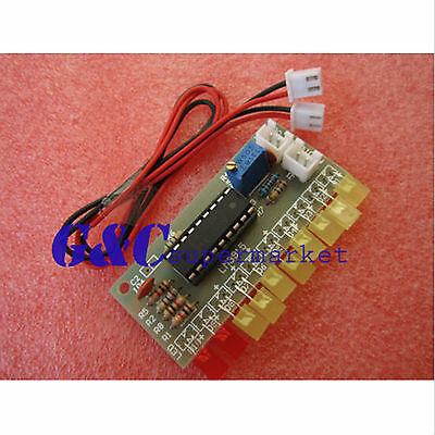 125pcs Lm3915 10 Segment Audio Level Indicator Diy Kit M54