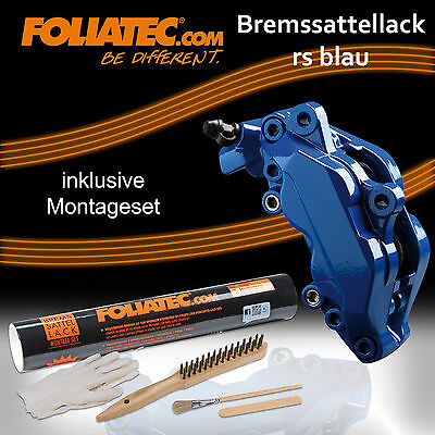 FOLIATEC BREMSSATTEL LACK RS BLAU 2162+ BREMSSATTEL MONTAGE SET