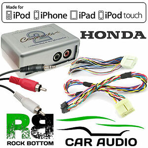 CTVHOX002 Honda Accord Civic Jazz Car Aux In iPhone iPod Interface Adaptor