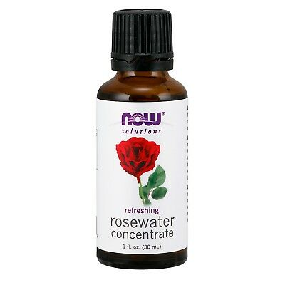 Rosewater Concentrate (NOW Foods Rosewater Concentrate, 1 fl. oz. )