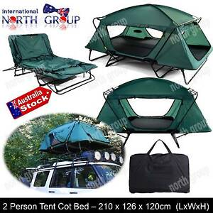 DOUBLE BED TENT FOLDING COMPACT TWIN CAMPING HIKING FISHING TENT Guildford Parramatta Area Preview