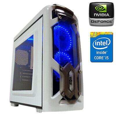 PC COMPUTER GAMING CORE i5-3470 RAM 8GB DDR3 SSD 240GB GEFORCE GT 730 4GB GDDR3