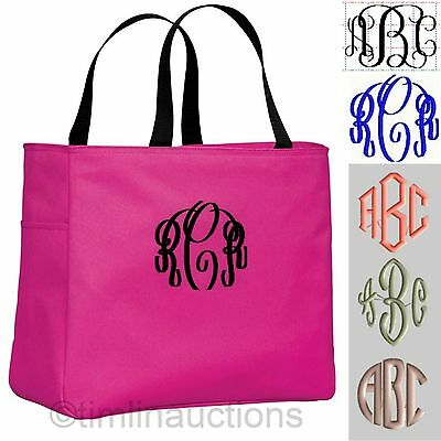 Personalized Tote Bag Monogram Bride Bridesmaid Gift Bridal Wedding Party Beach](Bridesmaid Tote)