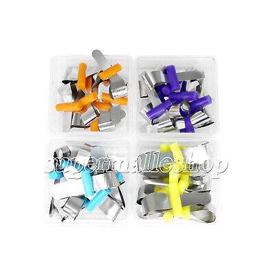 10pcsbox Metal Matrix Dental Bands Retainerless Universal Automatrix