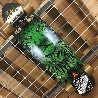 NEW Santa Cruz Jammer Lion God Cruzer Black Complete Skateboard - 7.4in x 29.1in