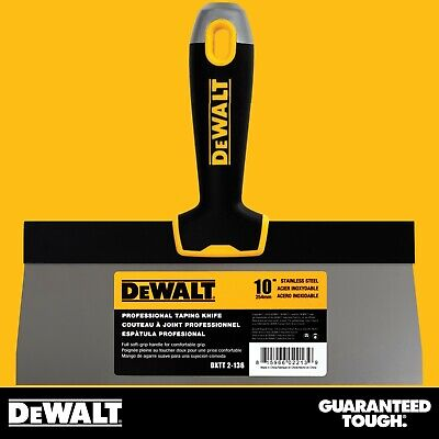 Dewalt Taping Knife 10 Stainless Steel Drywall Taping Tool Lifetime Warranty