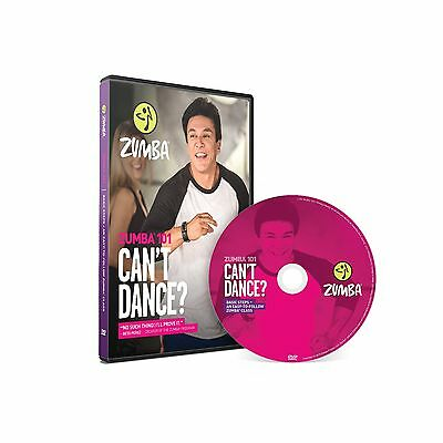 Basic Fitness Workout: Zumba 101 - Can't Dance? DVD