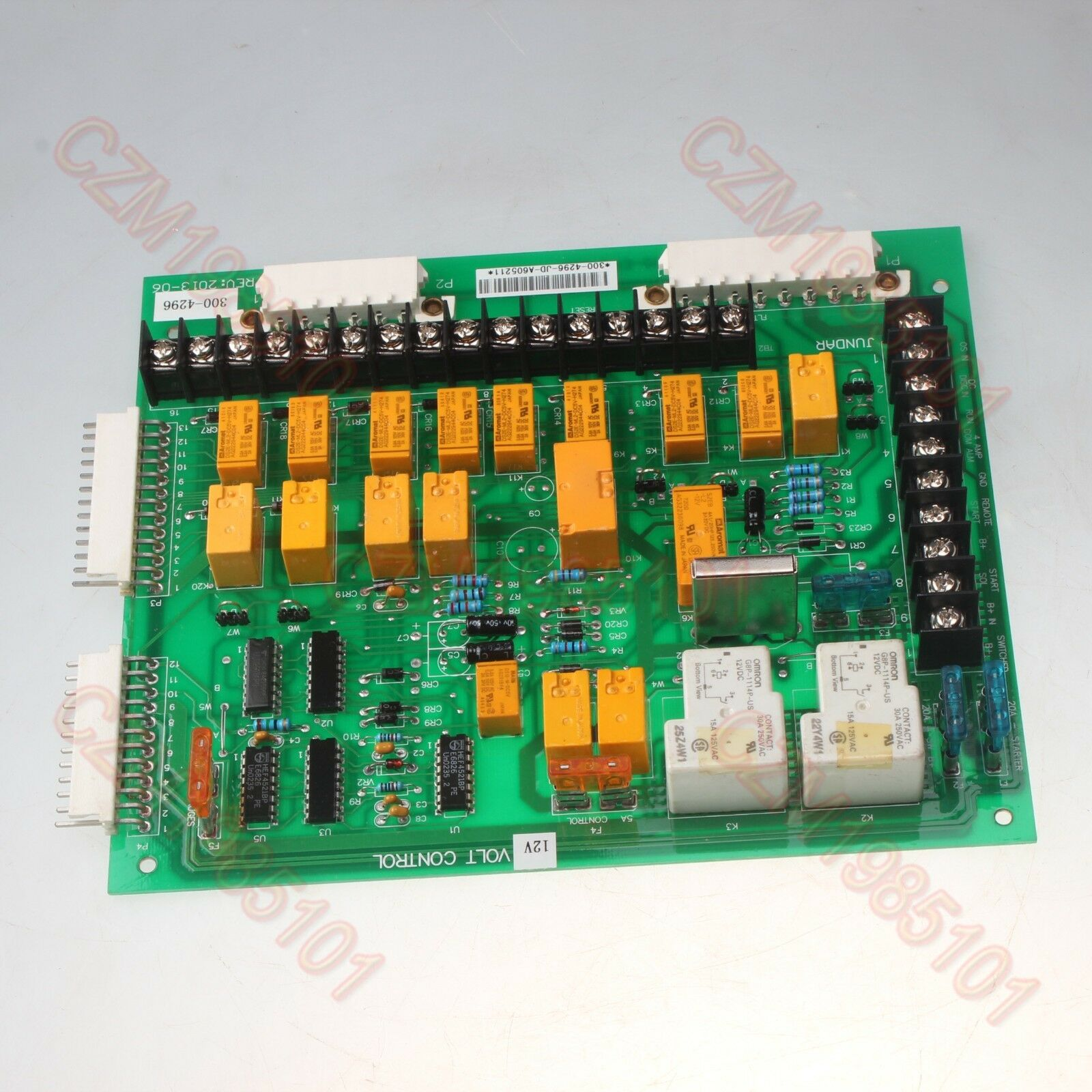 Replacement For Onan Circuit Board 300 2811 Engine Monitor 12v 12 Lights