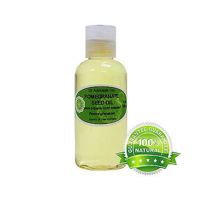 Premium 4 Oz Pomegranate Seed Oil Pure Organic Cold Pressed Best Multi (Best Pomegranate Seed Oil)