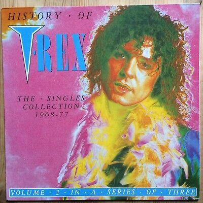 History of T Rex The single collection 1968 - 77 Volume 2 guter Zustand, gebraucht gebraucht kaufen  Bochum