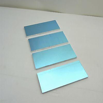 .5 Thick Precision Cast Aluminum Plate 4 X 9.375 Long Qty 4 Sku136772