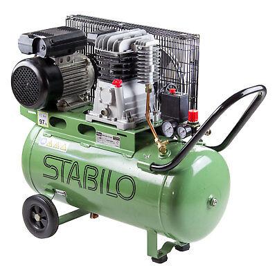 Doppelkolben Kompressor 280/10/50 K 50 L Liter Ölschmierung 2,2 kW 2850 U/min