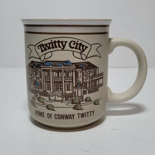 Conway Twitty Twitty City Coffee Mug - Souvenir Mug - Fantastic Cond Display