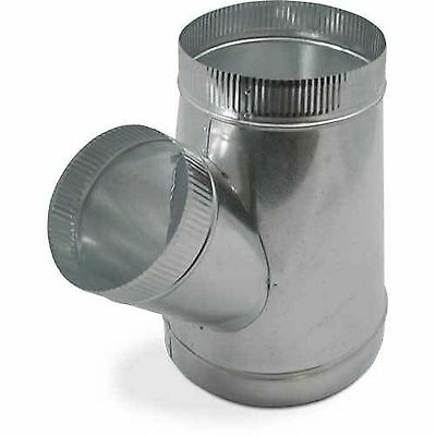 Single Wall Metal WYE for Connecting Duct Fittings Ventilation Branch