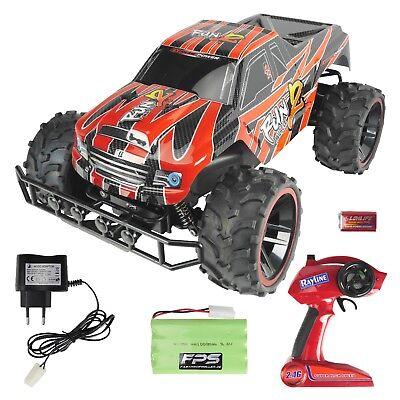 RC Monstertruck 1:8 XXL Kinder Spielzeug Buggy Offroad Elektro Auto 2.4G RR8 Rot