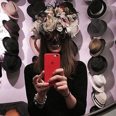 Frida Kahlo Halloween Flower Mask](Frida Halloween)