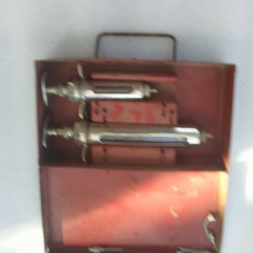 Vintage Veternarian Syringes