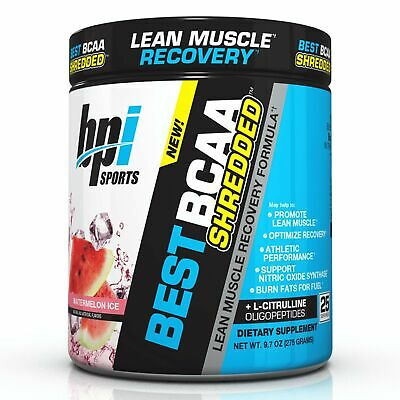 BPI Sports Best BCAA Shredded Caffeine Free Thermogenic Recovery Formula for