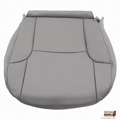 Driver Bottom Synth Leather Seat Cover Gray For 2003 2004 Toyota 4Runner - 2003 Toyota 4runner Seat Covers