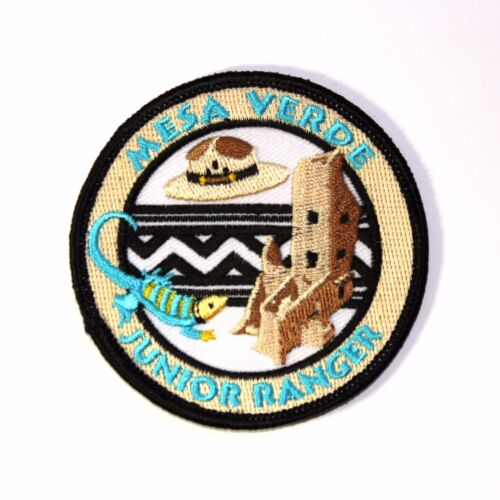 Official Mesa Verde National Park Souvenir Patch Junior Ranger JR Colorado
