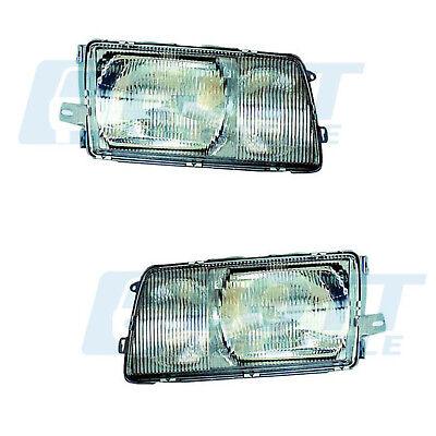 Hauptscheinwerfer links + rechts Scheinwerfer H4/H3 für MB W126 08/80-06/91